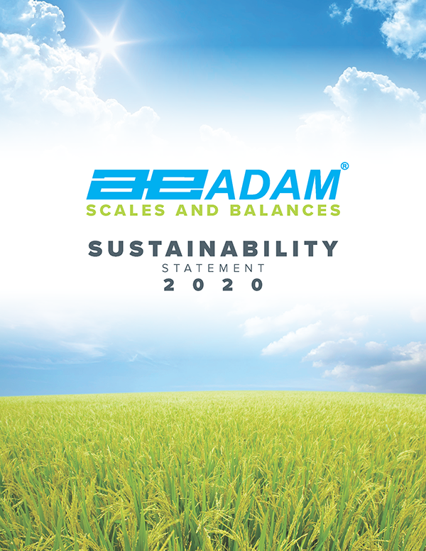 Sustainability with Adam Equipment