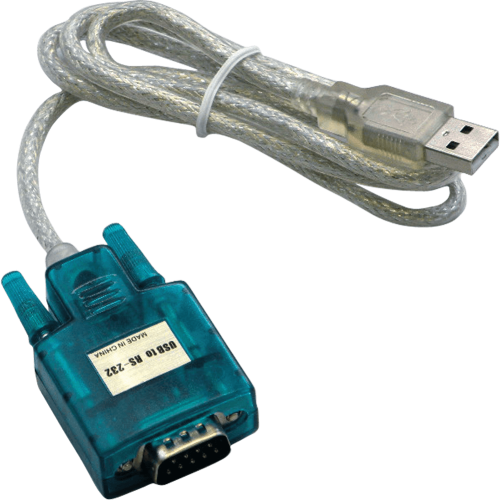 RS-232 to USB adapter
